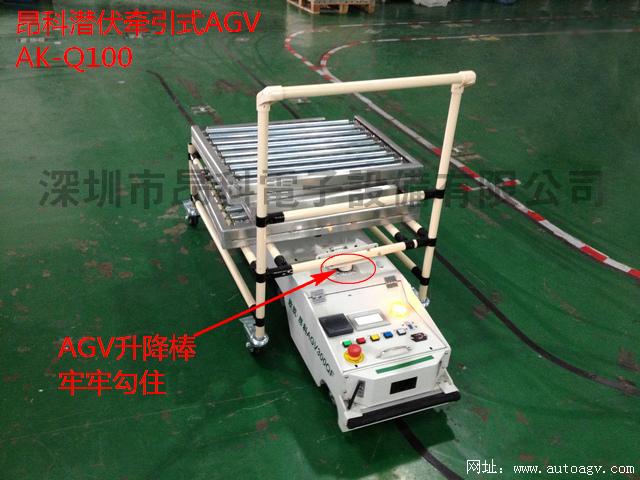 潜伏牵引式AGV