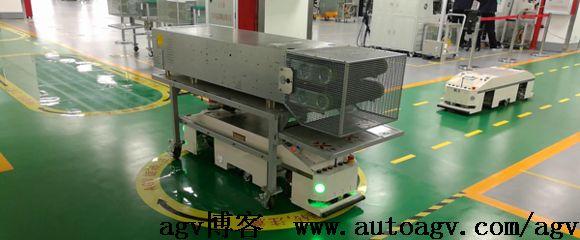 物流行业仓储英雄-AGV搬运机器人