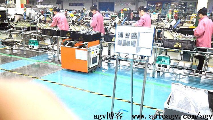 AGV是无人化工厂的桥梁