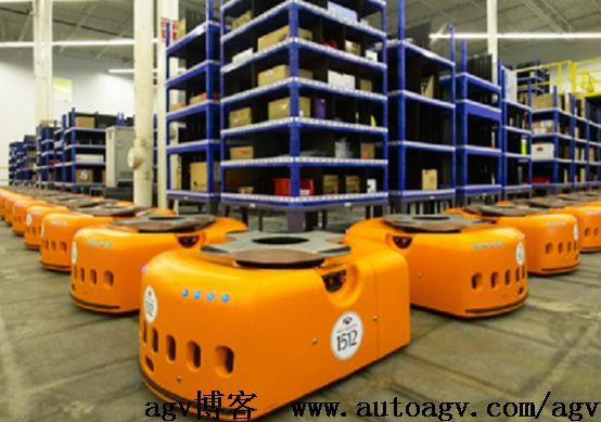 AGV-仓储物流最喜欢的搬运机器人