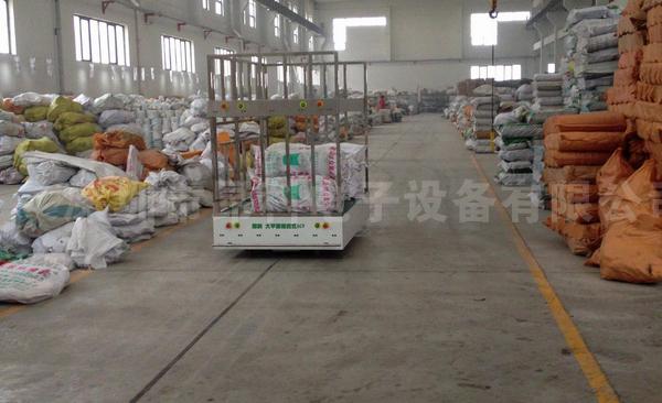 欧铠机器人AGV在某工厂仓库应用实例