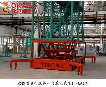 AGV在国内市场的位置