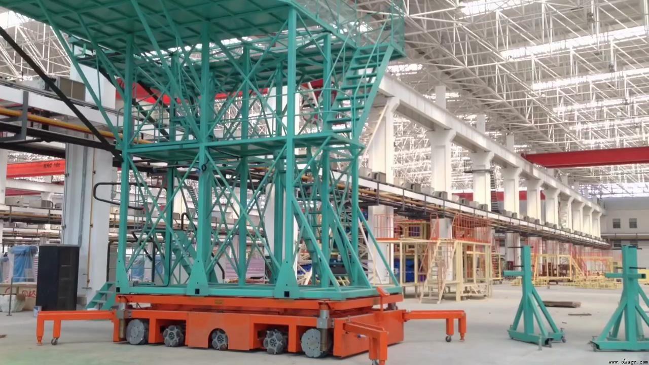 欧铠大载重15吨AGV